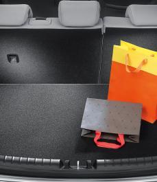 Килим в багажник YB (двосторонній, с боксом)