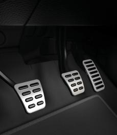 Накладки на педалі (МКПП, без обмежувача швидкості, LHD)