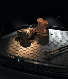 Автокилим гумовий в багажник (7 сидінь, двухст.) Sorento